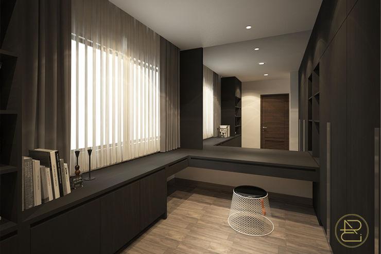 SL House Arci Design Studio Ruang Studi/Kantor Modern
