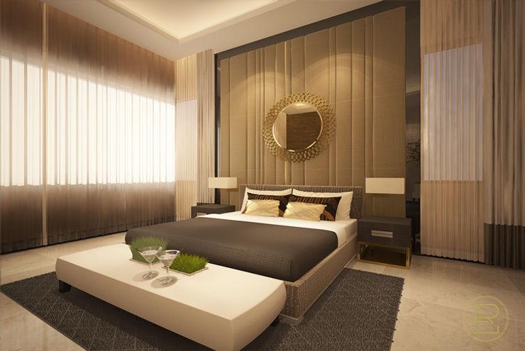 Teratai House Arci Design Studio Kamar Tidur Modern