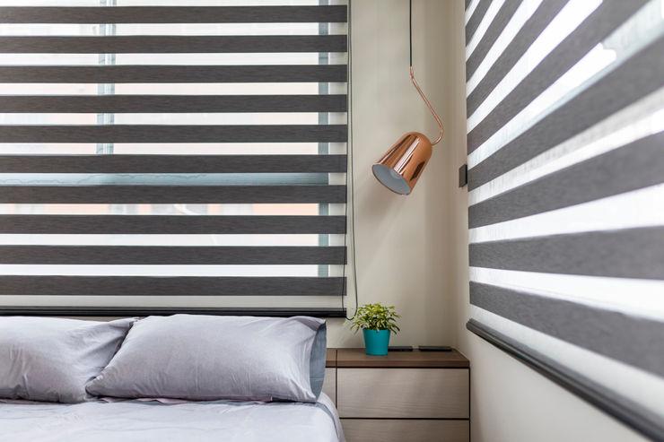 澄淨舒心 楊允幀空間設計 臥室