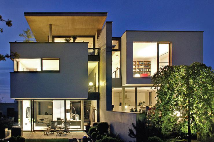 Gartenansicht Weber und Partner Freie Architekten BDA Einfamilienhaus