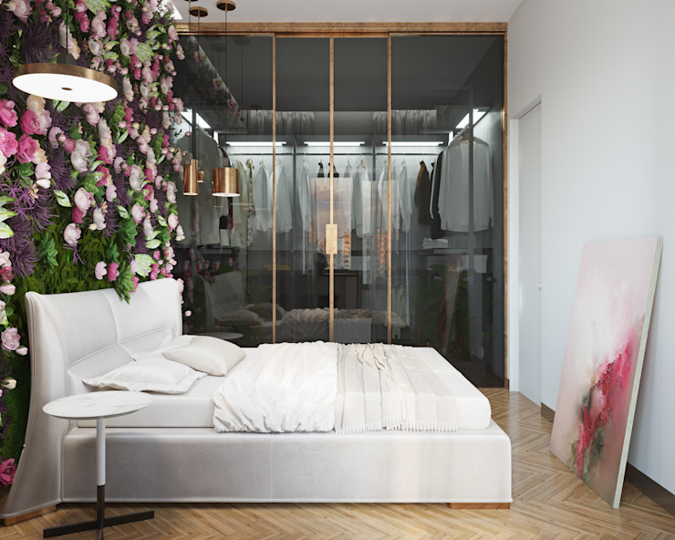 ДОМ СОЛНЦА Eclectic style bedroom