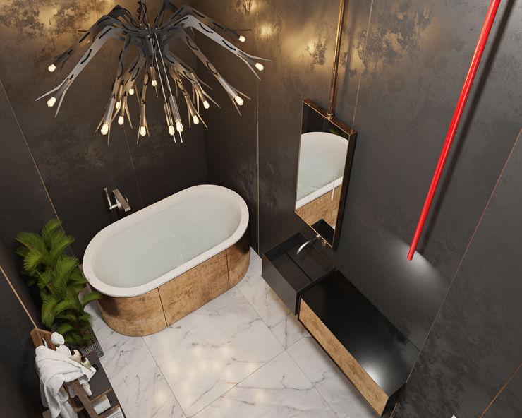 ДОМ СОЛНЦА Eclectic style bathroom
