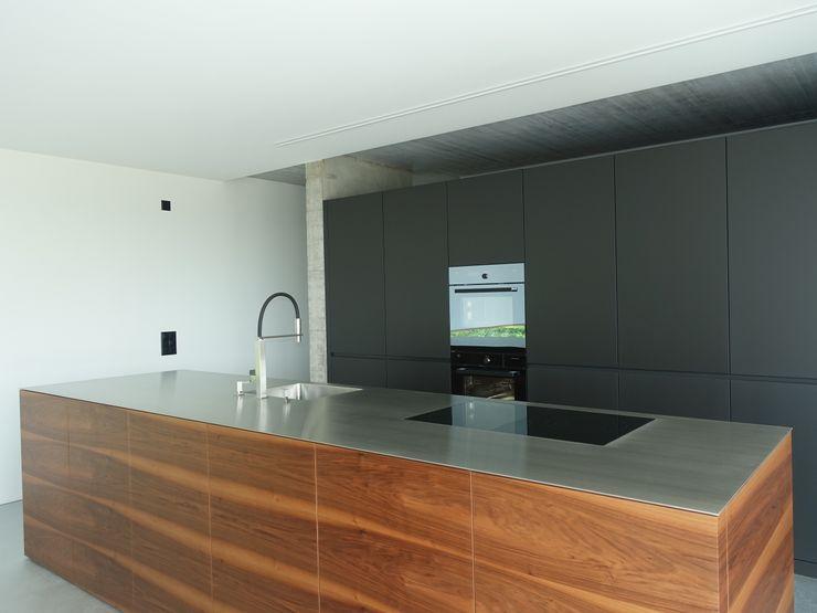 Einbauküche Studio Baumann Einbauküche Holz Mehrfarbig