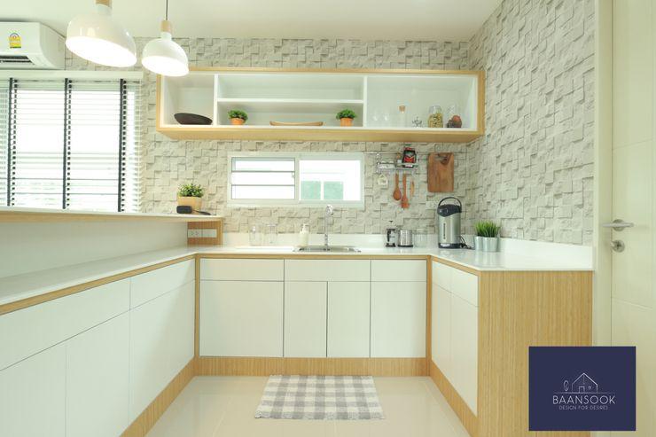 """""""มินิมอล"""" BAANSOOK Design & Living Co., Ltd. ตกแต่งภายใน"""