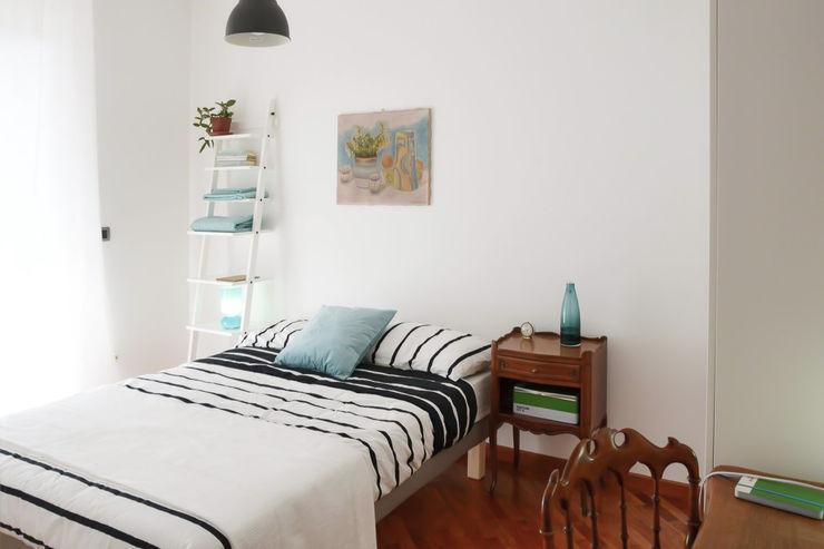 TRN-RSI laib architecture Camera da letto minimalista Bianco
