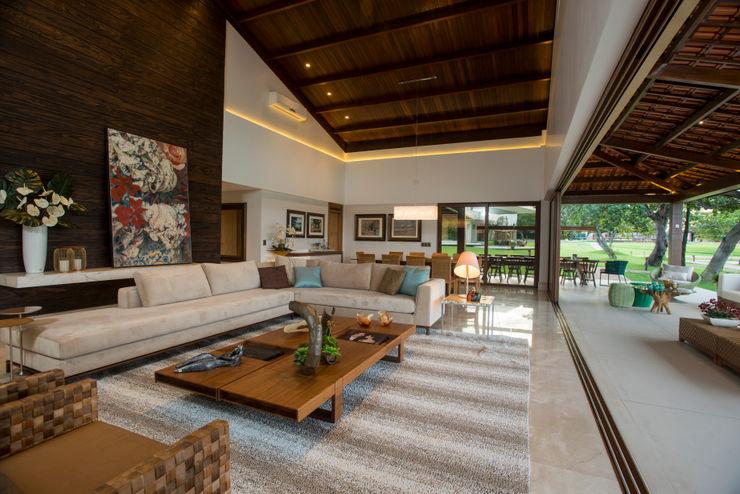 Danielle Valente Arquitetura e Interiores Modern living room