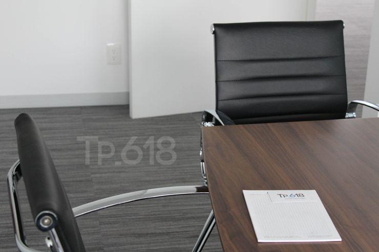 TP618 モダンデザインの 書斎 無垢材 白色
