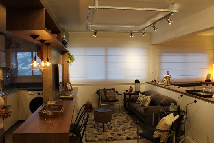 Cristina Langer Arquitetura Comercial & Interiores Living room