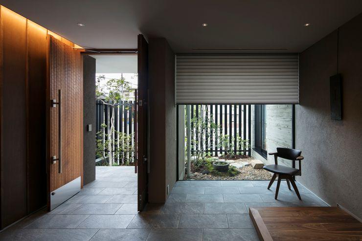 吉川弥志設計工房 الممر الحديث، المدخل و الدرج