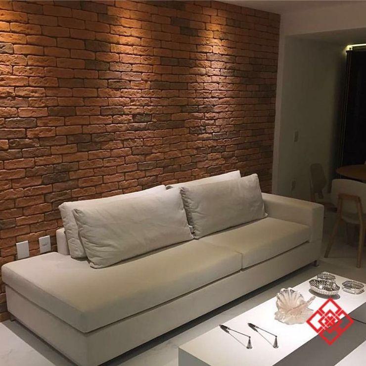 Guaraúna Revestimentos Modern living room