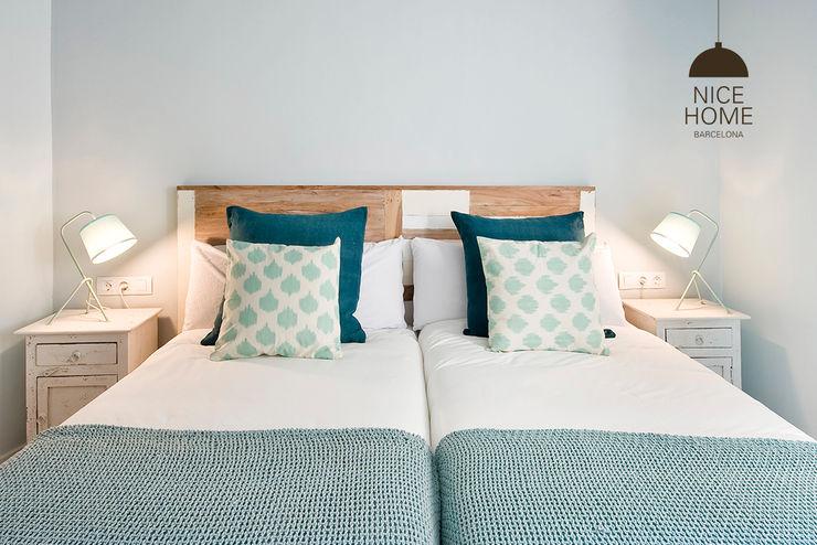 Nice home barcelona Mediterranean style bedroom