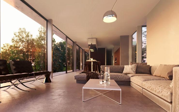 Glazed Extension for Dutch Gabled Property. HollandGreen Klassische Wohnzimmer