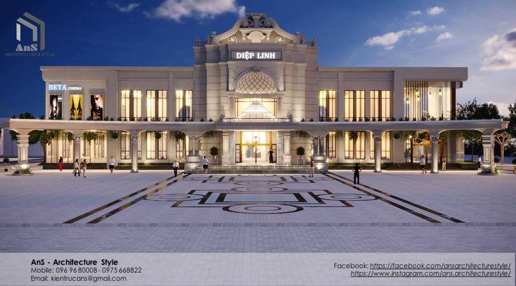 AnS - Architecture Style Centros comerciales