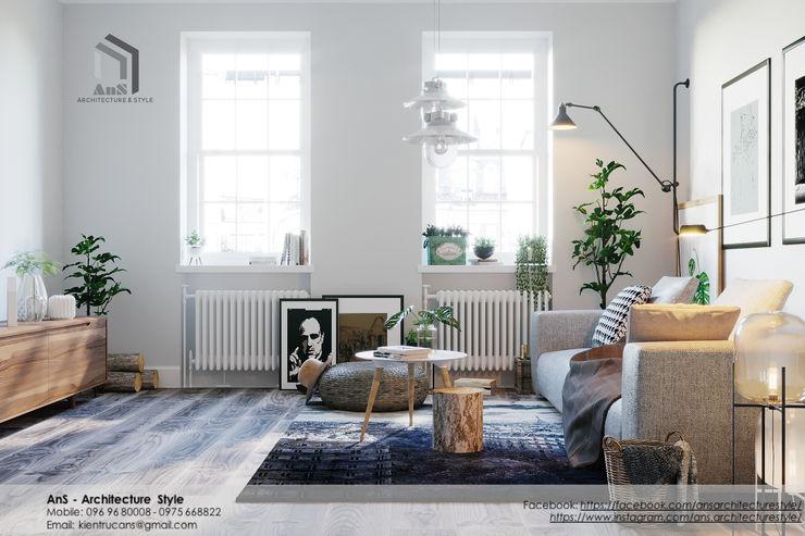 AnS - Architecture Style Salones escandinavos