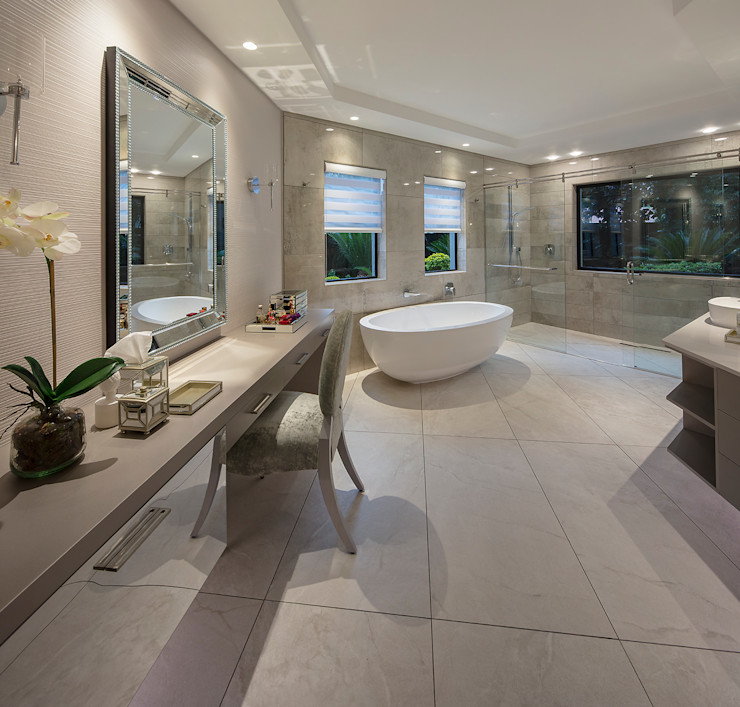 Spegash Interiors Modern style bathrooms