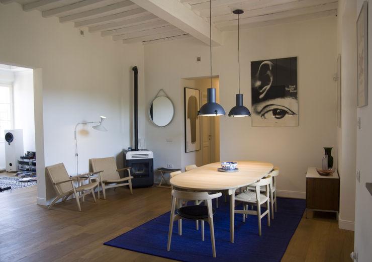 Sala da pranzo Studio Greci Sala da pranzo moderna
