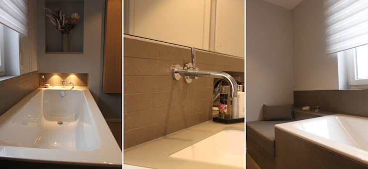 Celia Kunst_Architektur und Raumplanungen Modern bathroom