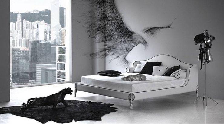 Spacio Collections 寝室アクセサリー&デコレーション テキスタイル 黒色