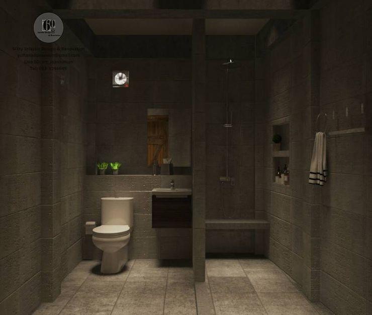 ห้องน้ำ sixty interior design & renovation ห้องน้ำ