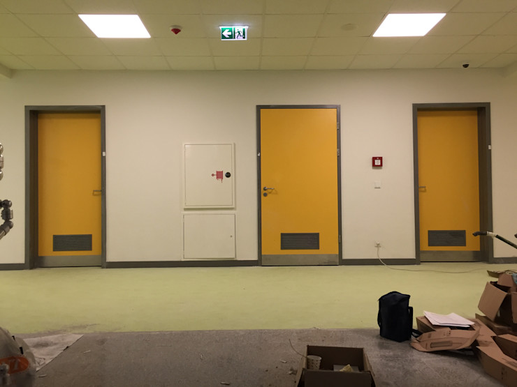 Okul Projeleri Dtec Kapı Çözümleri A.Ş. Pencere & KapılarKapılar