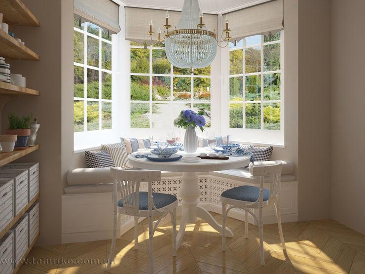 French country interior design Tamriko Interior Design Studio Country style dining room