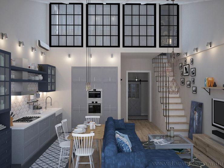 Loft Interior Design Tamriko Interior Design Studio Living room