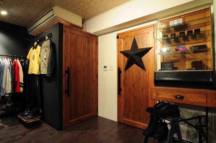 hacototo design room Комерційні простори Дерево Дерев'яні