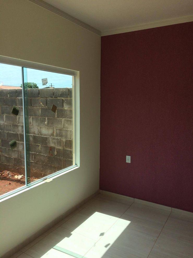 Guedes e Menezes Arquitetura + Engenharia Modern Living Room