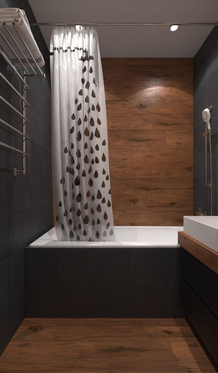 Alyona Musina Industrial style bathroom