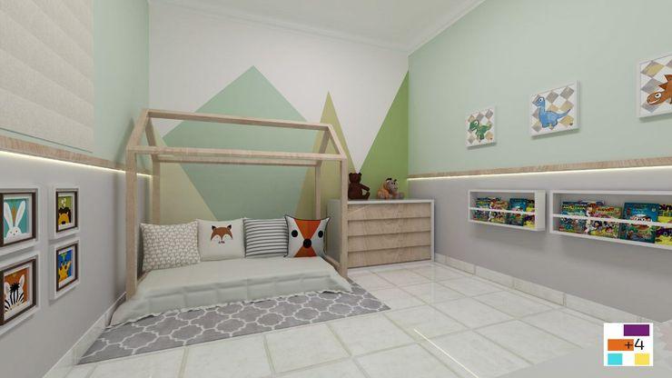 Quarto montessoriano Mais 4 Arquitetura, Construção e Design Quartos de bebê