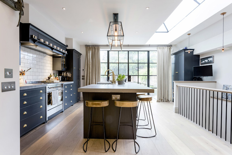 Kitchen GK Architects Ltd 現代廚房設計點子、靈感&圖片