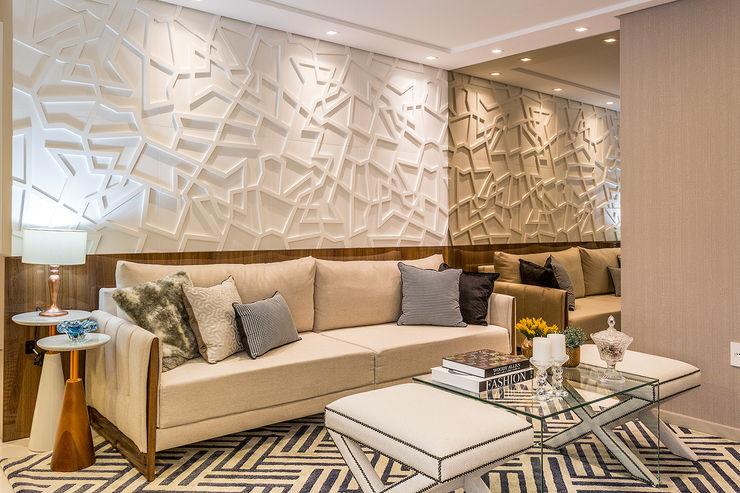 Juliana Agner Arquitetura e Interiores Living room