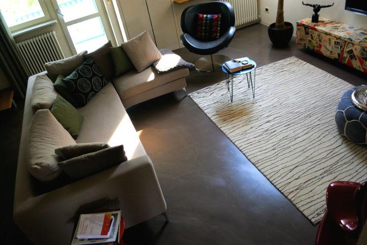 Pavimento in resina - living Due Punto Zero Pavimento