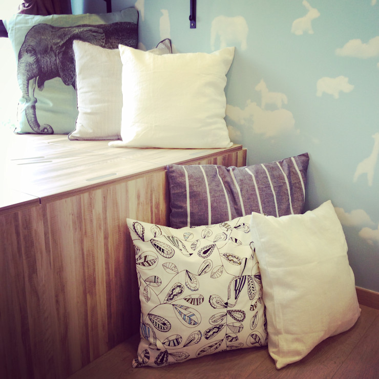 Project @ River Isles ab1 Abode Pte Ltd Scandinavian style bedroom