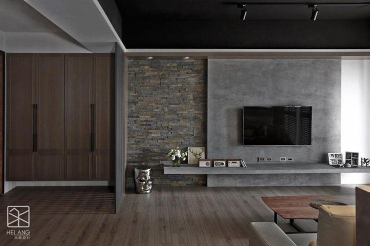 材質的不同銜接 禾廊室內設計 牆面