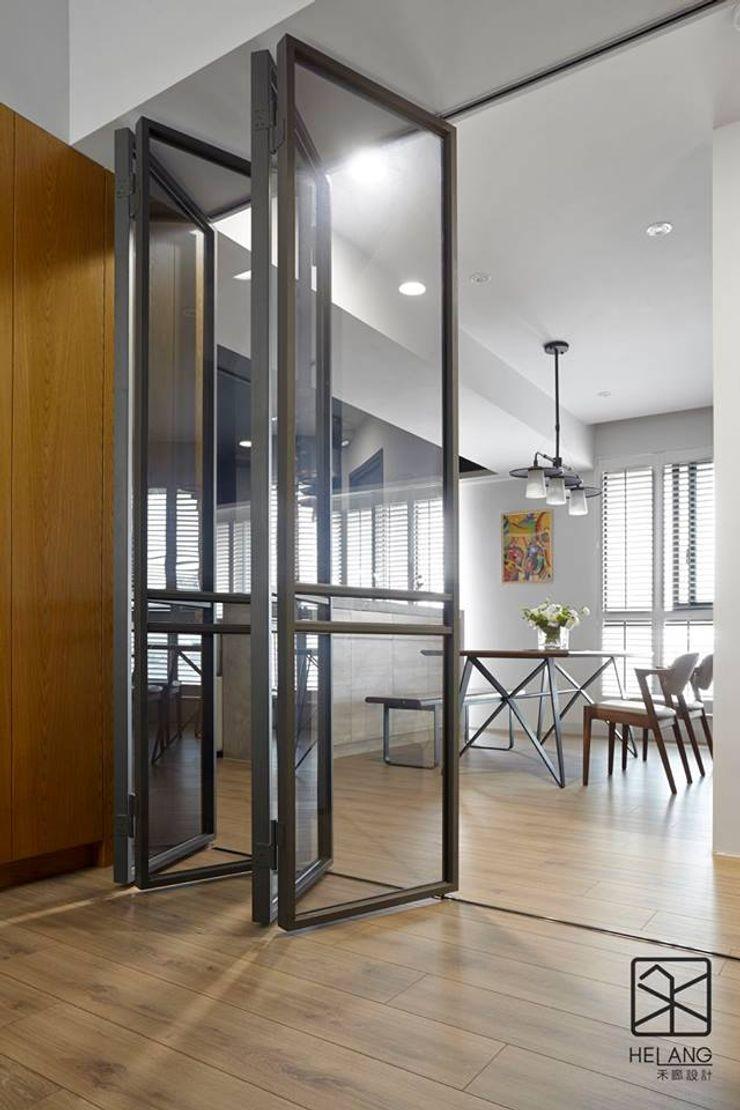多功能休閒式 禾廊室內設計 書房/辦公室 鐵/鋼 Black