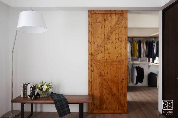 更衣室 禾廊室內設計 更衣室 木頭