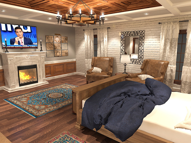 Quattro designs Спальня