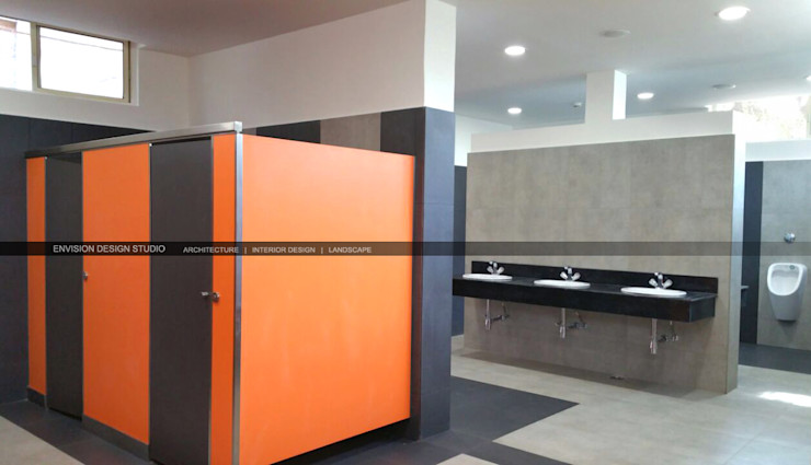 Hostel Block - The Shivaji House - Toilet Envision Design Studio
