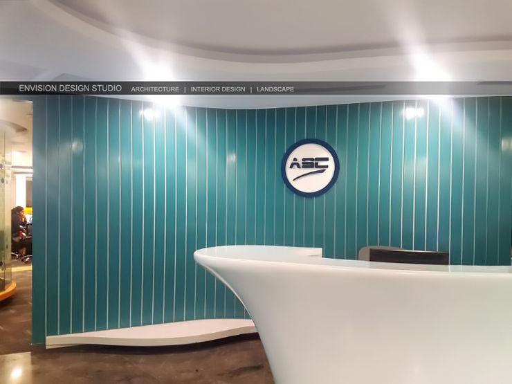 Reception Area Envision Design Studio