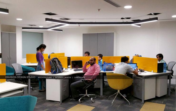 Ground Floor - Workstations Envision Design Studio