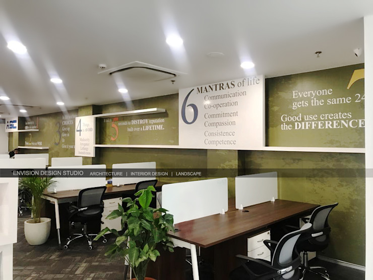 Second Floor - Workstations Envision Design Studio