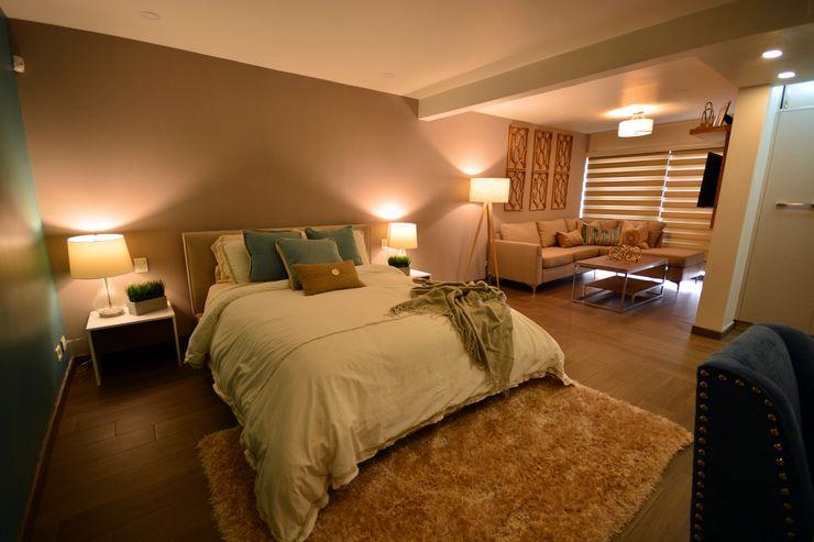Lo Interior Modern style bedroom