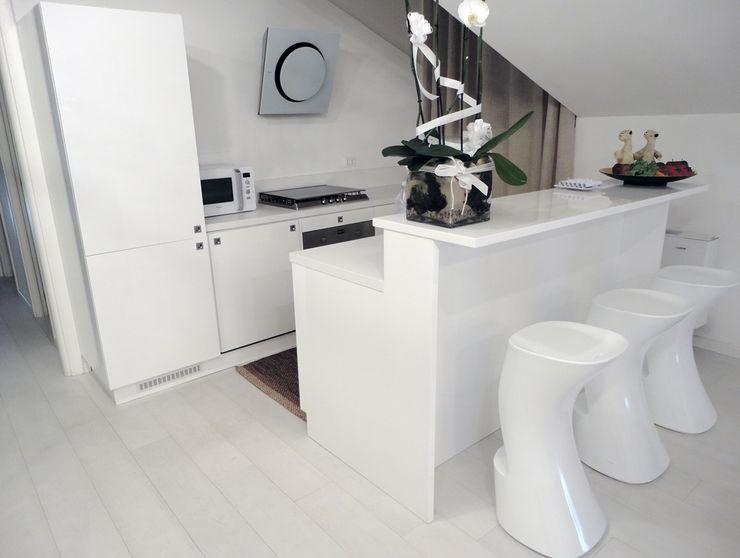 DELFINETTIDESIGN Кухонні прилади Дерево Білий