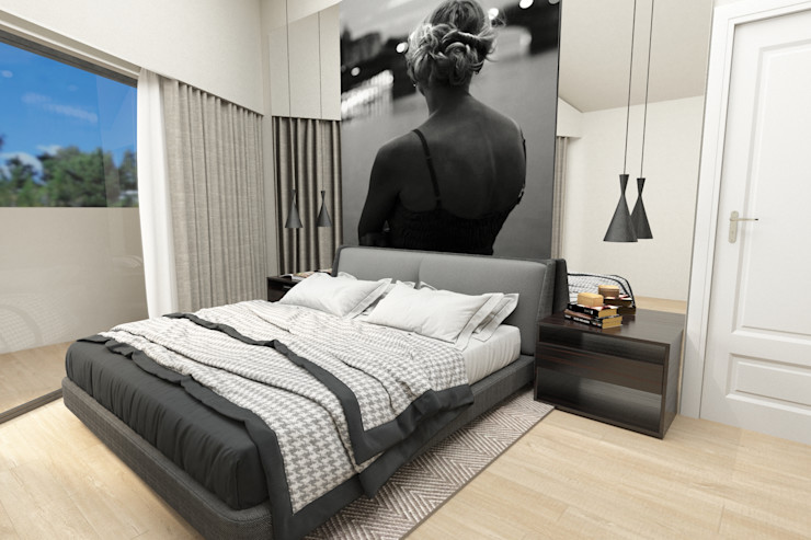 No Place Like Home ® Modern style bedroom