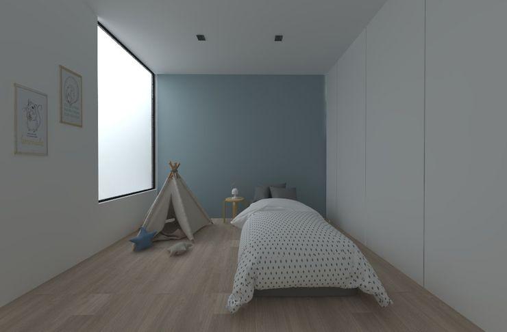atelier512 Dormitorios infantiles de estilo minimalista