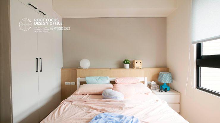 台中 陳公館 築本國際設計有限公司 嬰兒房/兒童房