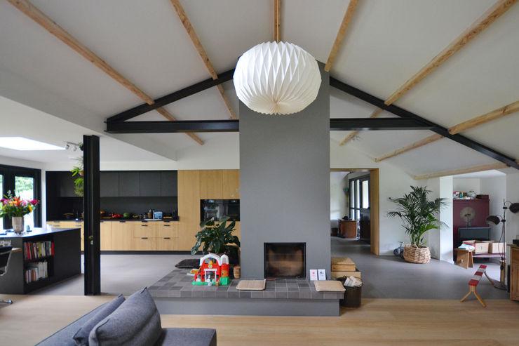 Woonkamer ARCHiD Moderne woonkamers