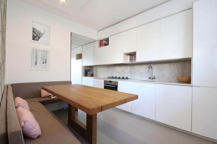 JFD - Juri Favilli Design 置入式廚房 木頭 White