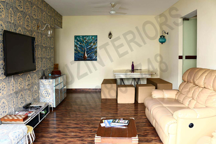 Heritage Tribuz Interiors Pvt. Ltd. Modern living room
